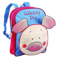 Wibbly Pig Backpack with Pocket www.mamadoo.com.au #mamadoo #bags #kidsbackpacks