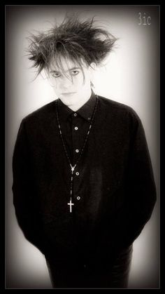Robert Smith the prince of goth