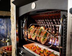 I want this.  I need this. La Cornue Flamberge Rotisserie