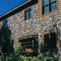 Manufactured Veeneer Stonewood Products for Boulder Creek, Splitface in Willows Stone Veneer Panels, Thin Stone Veneer, Boulder Creek Stone, Retaining Wall Pavers, Manufactured Stone Veneer, Products, Gadget