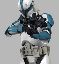 Phase I clone lieutenant