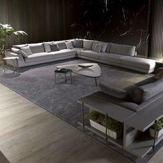Canapé modulable / contemporain / en tissu / par Mauro Lipparini ARGO…