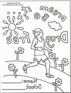Get The Latest Free Just Say No Coloring Pages Images Favorite To Print Online By ONLY COLORING PAGES Red Ribbon Week