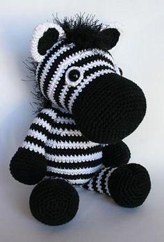 Ravelry: zebra Zoey pattern by Christel Krukkert