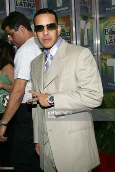 Daddy Yankee during 2005 Billboard Latin Music Awards - Arrivals at Miami Arena in Miami, Florida, United States.