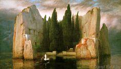 Arnold Böcklin - Die Toteninsel