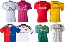 Camisas Champions League - grupo b