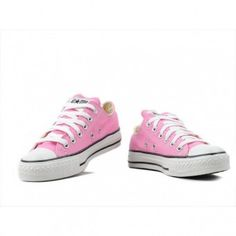 Converse Shoes Pink Chuck Taylor All Star Classic Low