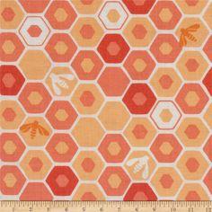 Moda Honey Honey Apiary Coral