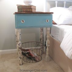 Repurposing Dresser Drawers - Scavenger Chic