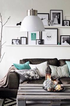 Living Room Decorating Ideas on a Budget  - More wicked decor ideas here - http://dropdeadgorgeousdaily.com/2014/01/geometric-homewares-square/