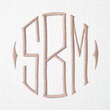 Matouk monogram style 2006