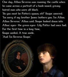 Even though JK Rowling didn't write this, it makes me all fuzzy inside to think that maybe it happened :)