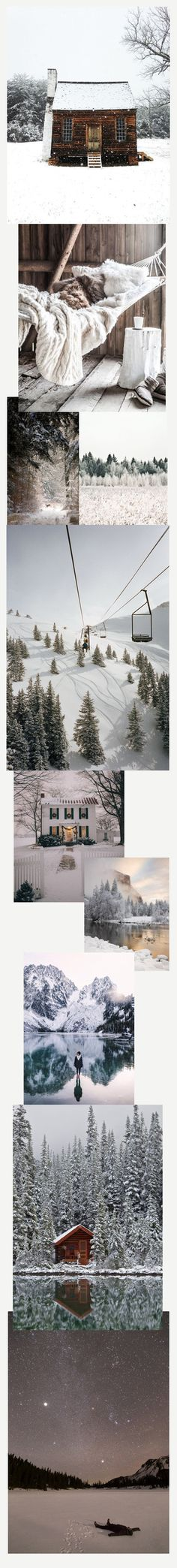 Travel Daydreaming: Winter Wonderland by The Wanderlove Collective Zine, Winter Wonderland, Travel Inspiration, Collage, Creative, Collages, Collage Art, Colleges