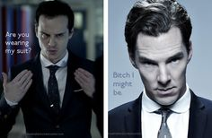 Bad Benny, Westwood is Andrew's thing It wouldn't surprise me if it's indeed the same tie or even the same everything