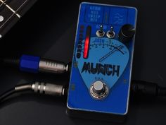 MunchBox: Motion Controlled Expression for your guitar/bass. The MunchBox is a motion-controlled expression pedal for any electric instrument. Use your own movement to control your favorite effect