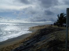 Monrovia, Liberia I miss the black sand!!