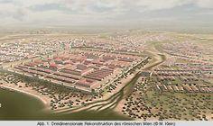 Vindobona-CD - Forum Archaeologiae 33/XII/2004 Roman City, History Photos, Historical Architecture, Historical Pictures, Ancient Rome, Old City, Archaeology, Austria, Paris Skyline