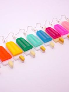 ice popsicles Ice Popsicles, Piece Of Me, Shopping, Jewelry, Ice Pops, Jewellery Making, Jewerly, Ice Cream Popsicle, Jewelery
