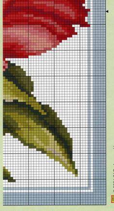 ru / Фото - 170 - elypetrova, red poppy bottom right Cross Stitch Art, Cross Stitch Flowers, Cross Stitching, Cross Stitch Embroidery, Hand Embroidery, Cross Stitch Patterns, Tapestry Crochet Patterns, Knitting Patterns, Needlepoint Stitches