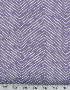 "Width: 54"" Vertical Repeat: 3.5"" Horizontal Repeat: 9"" 	Contents: 100% Cotton Fabric Weave: Linen / Rustic Design: Chevron, Stripe Brand: Premier Prints   Fabric Type: Medium Weight Drapery / Light Weight Upholstery Uneven, thick and thin lines form rough chevrons in white on a grape purple, slubby background. This fabric is part of the Premier Prints Designer Collection and has a medium drape. It is perfect for bags, aprons, curtains, duvets, shams, throw pillows and so much more! $8.98/yd"