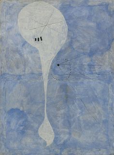 Collection Online   Joan Miró. Personage (Personnage). summer 1925 - Guggenheim Museum
