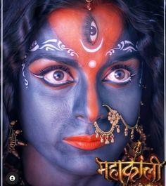 Jay Maa Kali, Pooja Sharma, Beautiful Images, Halloween Face Makeup, Movie Posters, Art, Art Background, Film Poster, Kunst