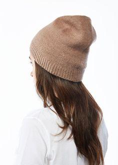 Basic Cashmere Blended Beanie-Taupe. #lookbym #shawlvest #shawl #vest #ootd #spring #fall #winter #fashion #womensfashion #basic #trend #bestseller #look #green #kellygreen #scarf #poncho #glove #hat #fashion #fw18 #lookbym #cashmere #Cardigan #Sweater #Cardigan #Knit #Wool