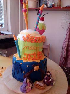Christmas cake (birthday of Jesus :) )