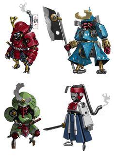 Steampunk Samurai, Maung Thuta on ArtStation at https://www.artstation.com/artwork/steampunk-samurai-b20fbc45-2a70-4315-b516-8f6cdf9fc215