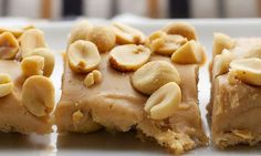 Salted nut squares