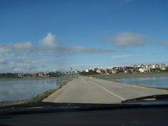Road across the sea.
