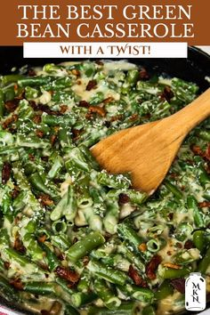 Making a creamy green bean casserole from scratch is nearly as easy as the traditional version we see on Thanksgiving tables using canned soup and french fried onion strings. My version is made completely from scratch, with homemade cream of mushroom soup, green beans, and a delicious twist that makes this recipe the VERY best green bean casserole recipe you'll ever make, I promise! The Best Green Beans, Can Green Beans, Frozen Green Beans, Creamy Green Beans, Onion Strings, Homemade Green Bean Casserole, Greenbean Casserole Recipe, French Fried Onions, Do It Yourself Inspiration