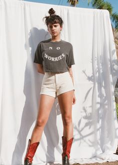 LATEST IN LA | Muse Dajana Radovanovic photographed by Alie Layus of @virgingoldcult shot in Ventura, Los Angeles for Afends. Muse, White Shorts, March, Fashion, Moda, Fasion, Mars