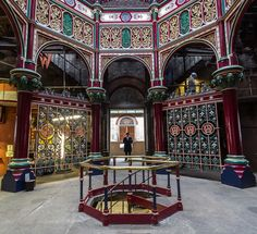 Crossness Pumping Station -- this is a sewage pumping station in London UK. The Victorians were very, very proud of it.