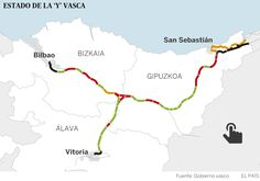 TREN DE ALTA VELOCIDAD    La lenta historia del tren rápido    Casi 30 años después de que se aprobase el proyecto, la alta velocidad vasc...