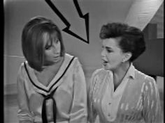 "I will never forget this performance...one of my favorite of all time.  1963  Judy Garland and Barbra Streisand ""Get Happy"" and ""Happy Days are Here Again"""