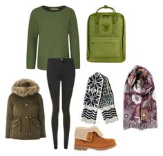 """Evergreen"" by pippahoel on Polyvore featuring Seasalt, Topshop, Timberland, Fjällräven and Dorothy Perkins"