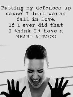 demi lovato~heart attack
