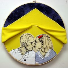 Best of Lucky Jackson's 365 project so far! Richie and Margot Tennenbaum in the tent.