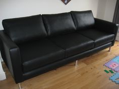 12 Best Boldly black images | Sofa, Furniture, Contemporary sofa