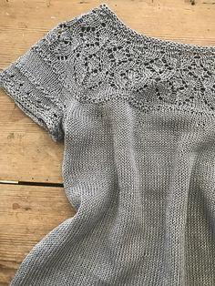 Sweater Knitting Patterns, Knitting Stitches, Knitting Needles, Knit Patterns, Knitting Club, Summer Knitting, Baby Knitting, Crochet Blouse, Knit Crochet