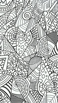 anti-stress // coloring pages for adults | Coloring | Pinterest Wallpaper