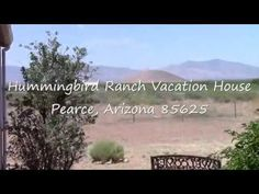 $695WK Scenic Ranch SE Arizona 360 Mt Views, 3 Ghost Towns and 2 National Parks. Sandhill Crane Winter Migration (Oct~April). Tons of local history including rich Apache history of Geronimo and Cochise. Tombstone, Bisbee Willcox are a short drive. http://hummingbirdranchaz.com