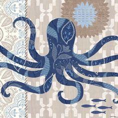 Barrier Reef Octopus by Jennifer Brinley | Ruth Levison Design