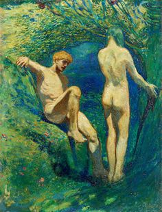 Bror Gustaf Hillgren, Adam and Eve.