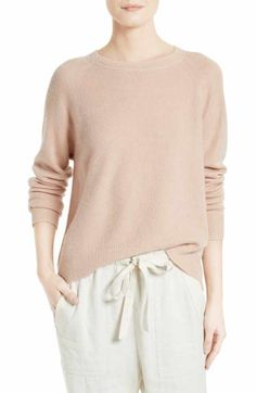 Free shipping and returns on Vince Boxy Cashmere Pullover at Nordstrom.com. Dropped shoulders enhance the slouchy-chic fit of a crewneck sweater knit from luxe, ultralight cashmere.