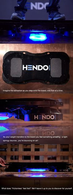 The Hendo Hoverboard was created by Jill and Greg Henderson, a California couple, who hope to put their hover technology in the hands of developers by July 2015. It will come in the form of a white box with hoverboards following a few months later.