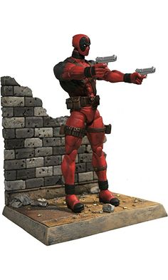 Diamond Select Toys Marvel Select: Deadpool Action Figure Best Price