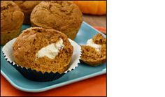 HG's Sweet-Cream Pumpkin Muffins - You HAVE to make these for the holidays. SO GOOOD!!!!!!!